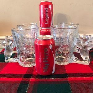 Vintage Coca Cola Polar Bear Mugs